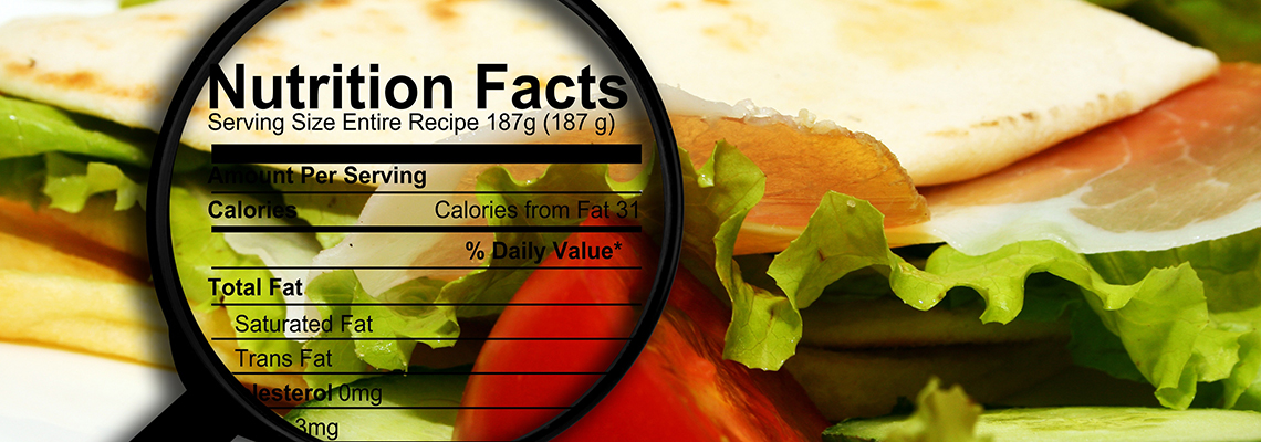 Food nutrition facts
